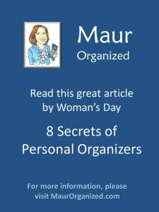 Secrets of an Organizer