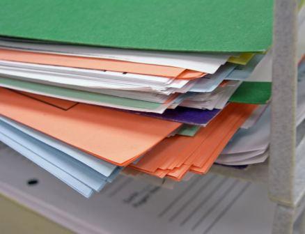 Photo of file folders