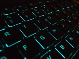 Photo of a keyboard