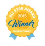All Star newsletter award logo