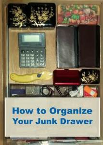 Photo of an organized drawer