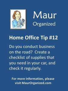 Home Office Tip #12