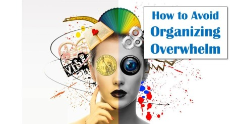 Avoid Organizing Overwhelm